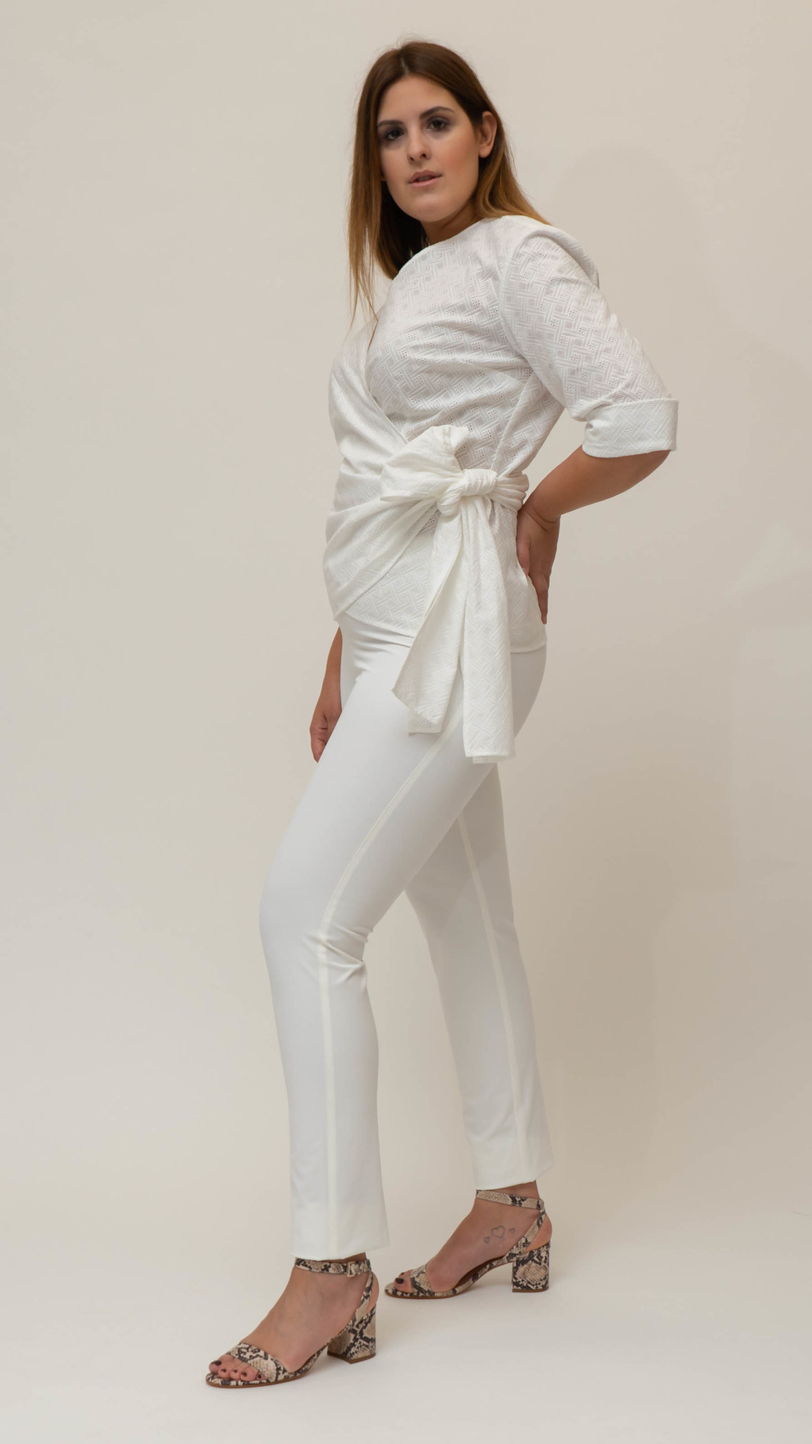 ANNA Blouse in Cotton-4
