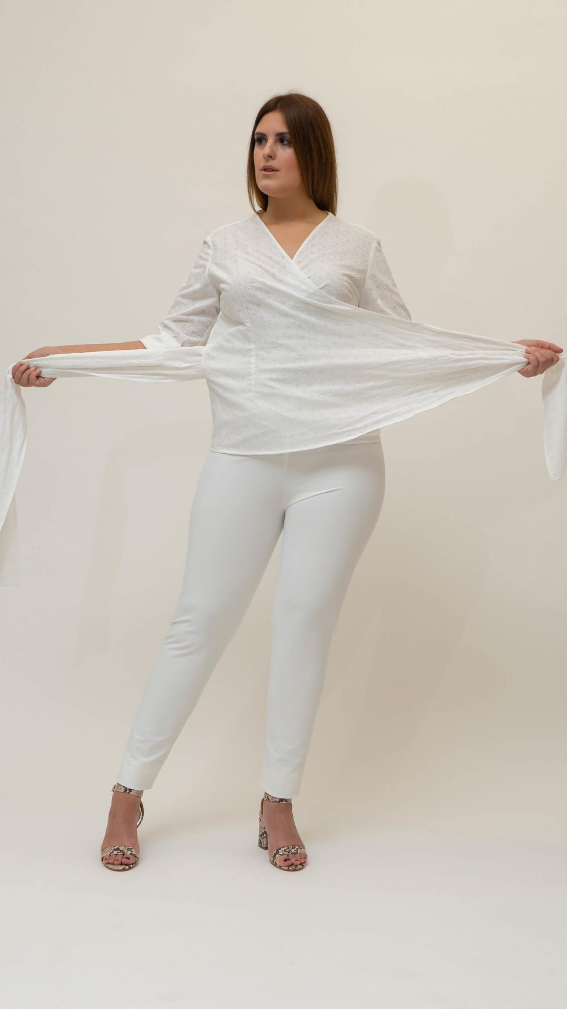 ANNA Bluse aus Baumwolle-5