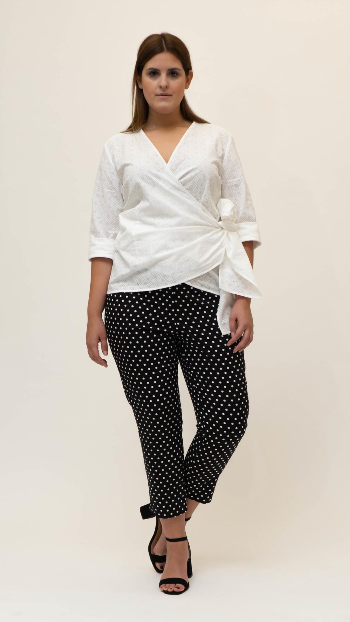 CAPRI Trouser in Cotton stretch-3