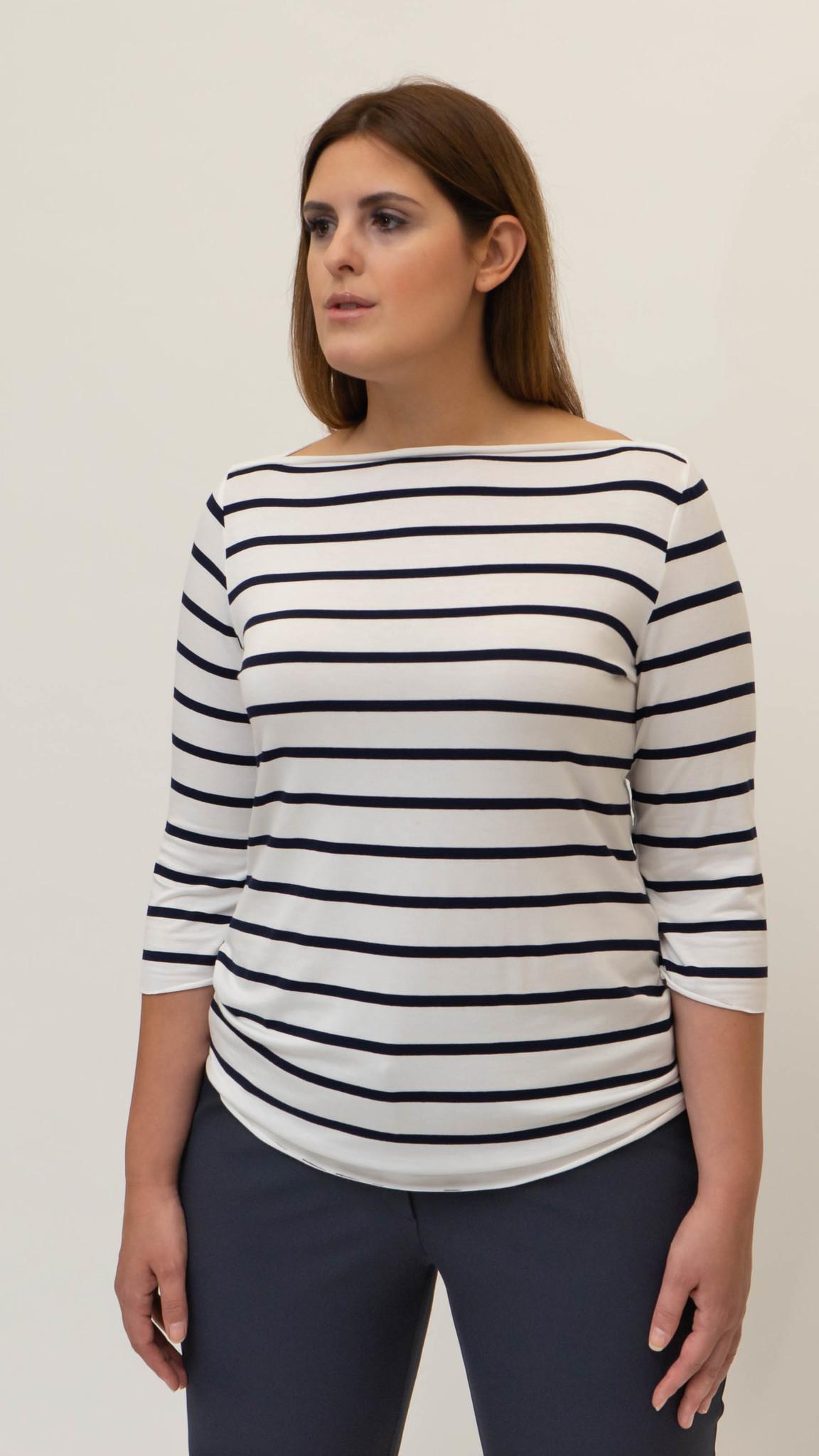 MARIETTE Shirt in Jersey-2