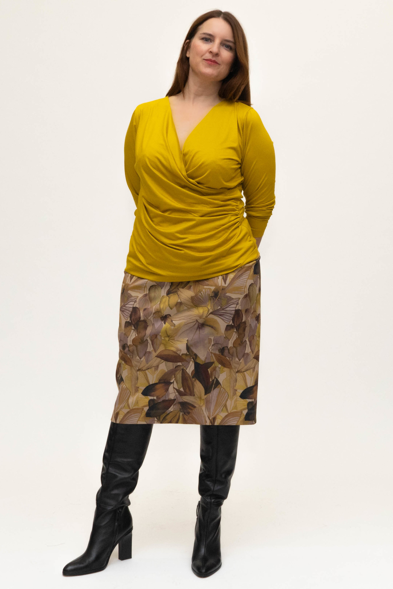 Charis skirt in double Jersey-5