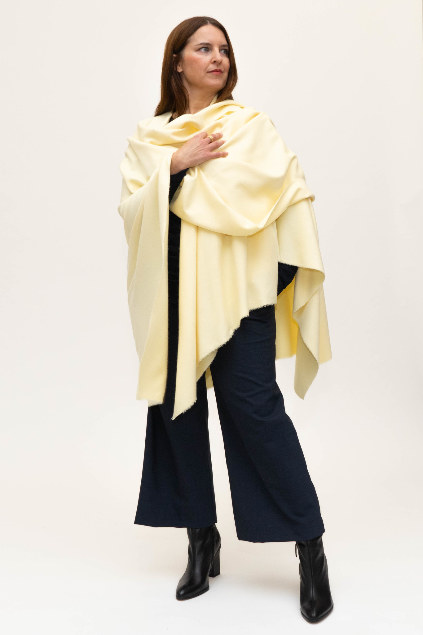 GREAT Cape in Wool-Cashmere blend-8