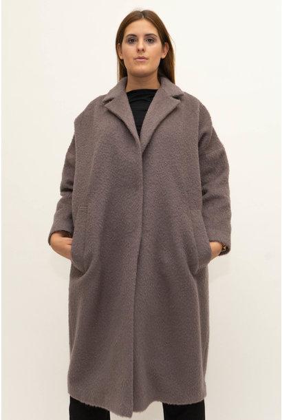 DOREEN Coat in Wool-Mohair blend