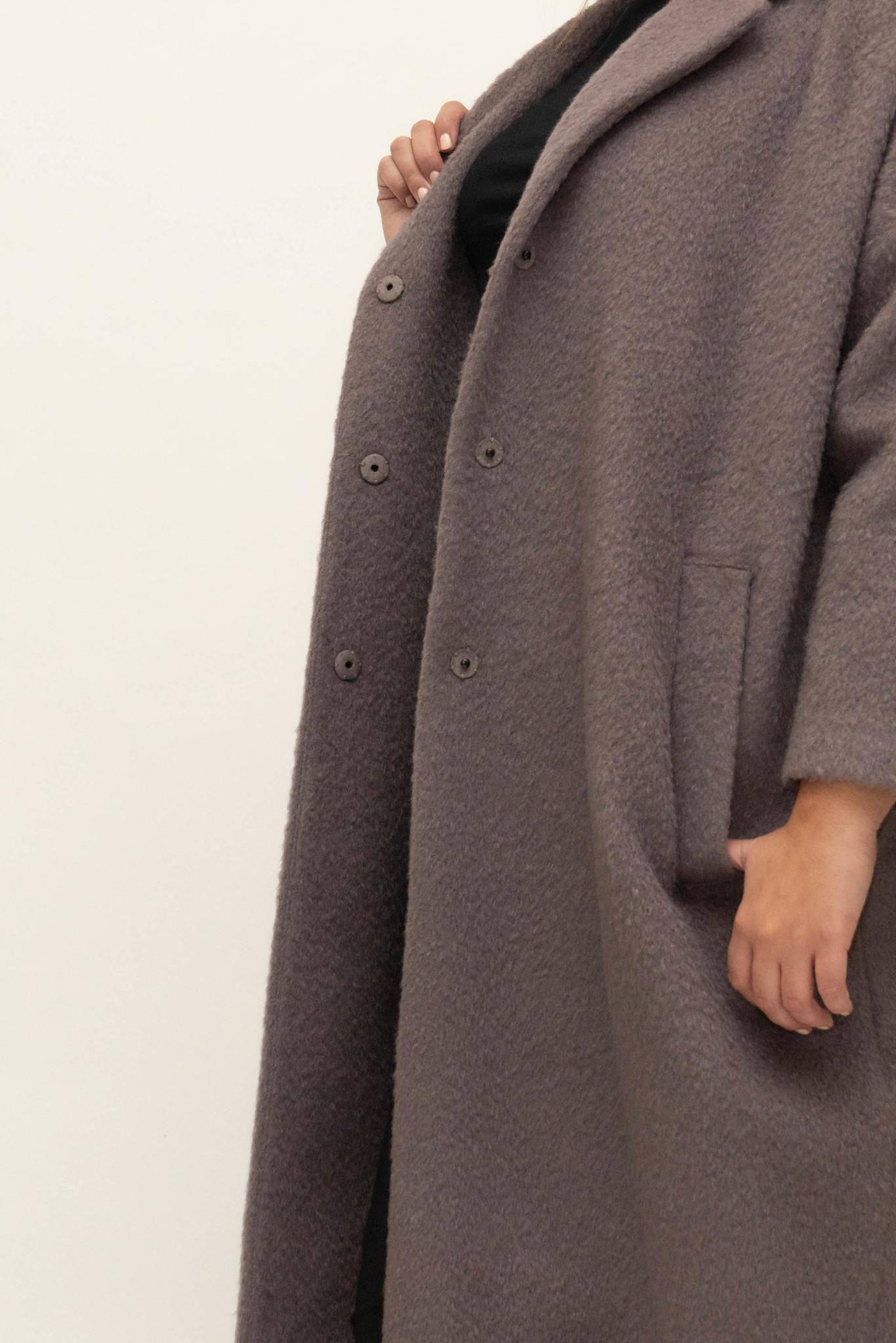 DOREEN Coat in Wool-Mohair blend-4