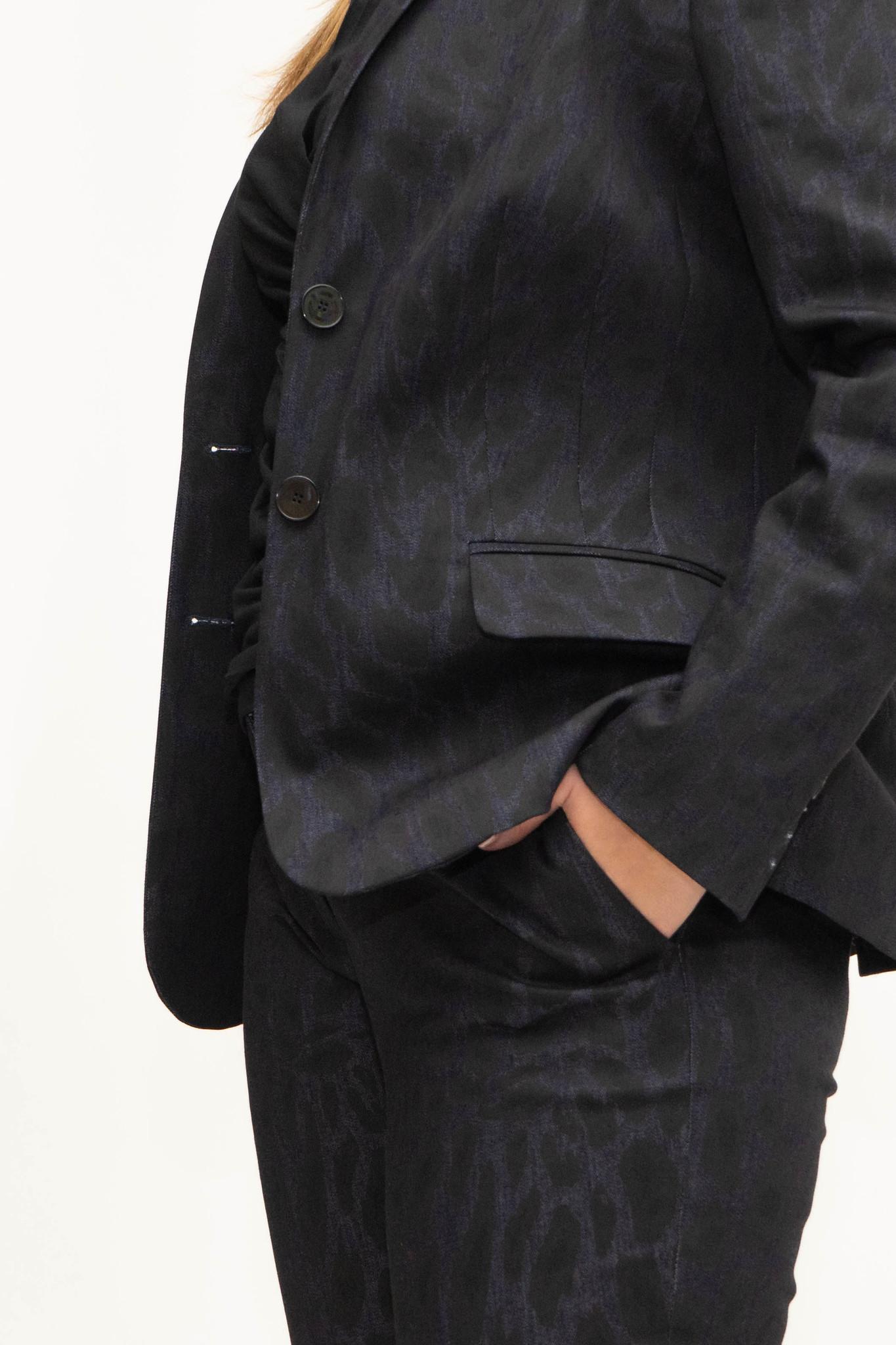 LENA Trousers aus bedrucktem Denim-4