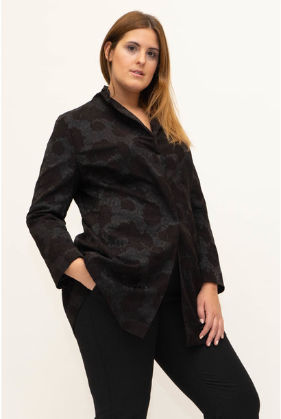 AMELIA Jacket in Viscose Jacquard