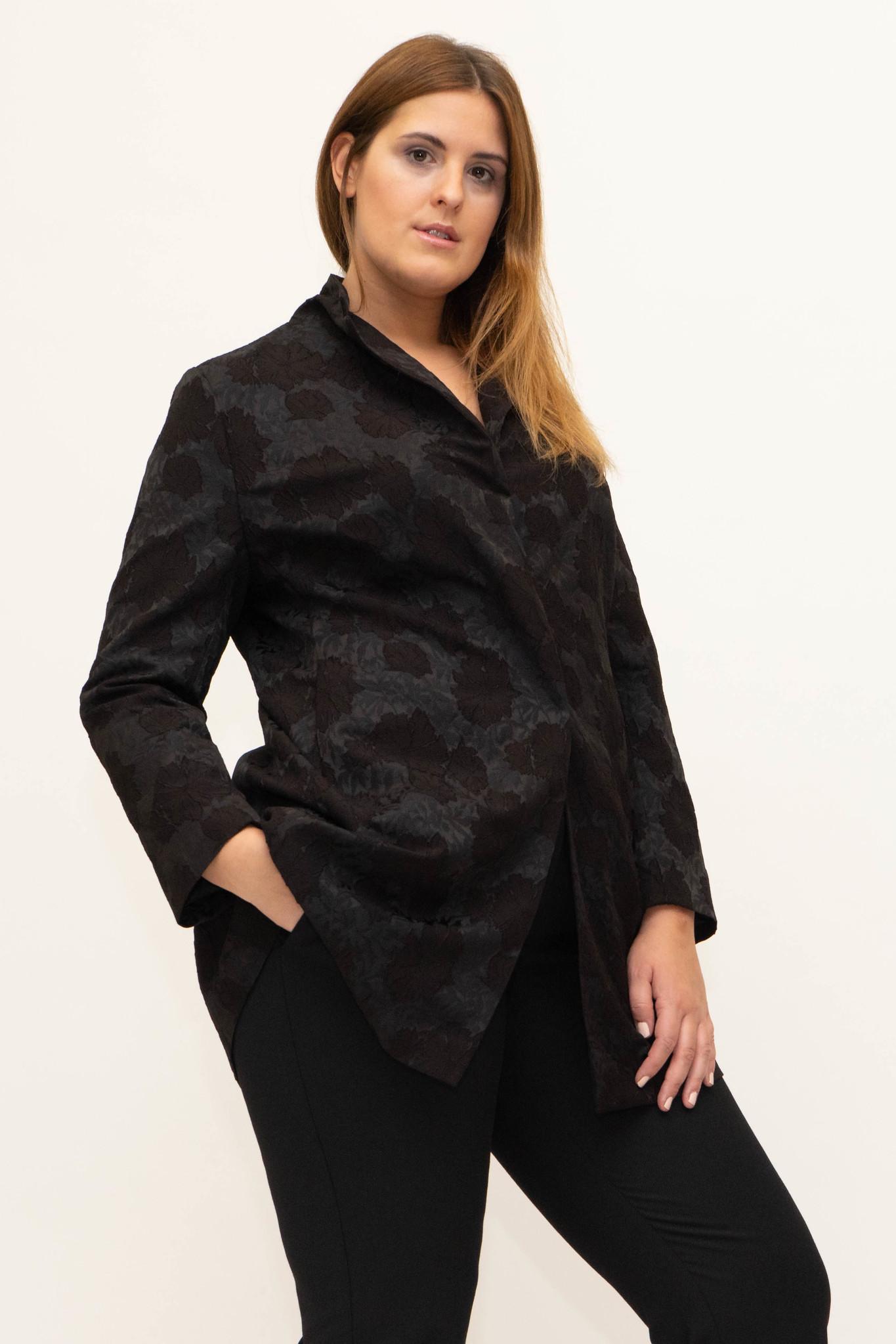 AMELIA Jacket in Viscose Jacquard-1