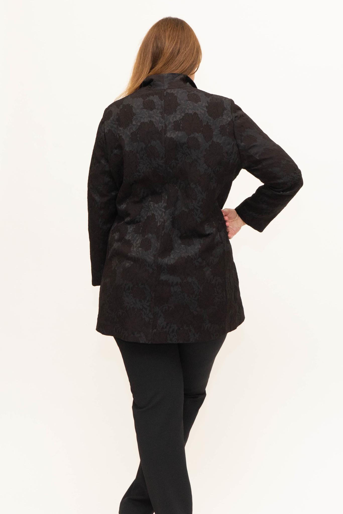 AMELIA Jacket in Viscose Jacquard-3