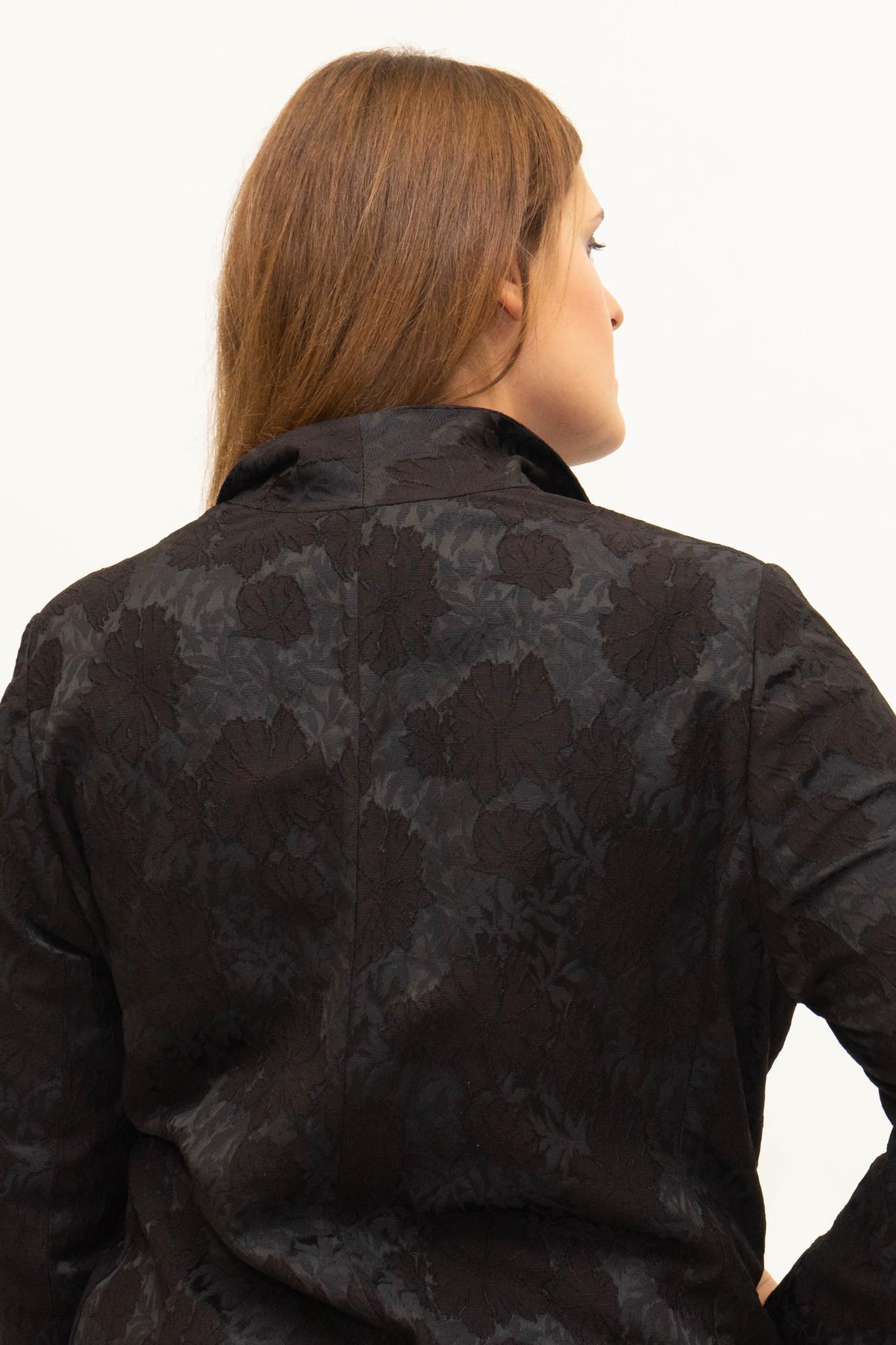 AMELIA Jacket in Viscose Jacquard-4