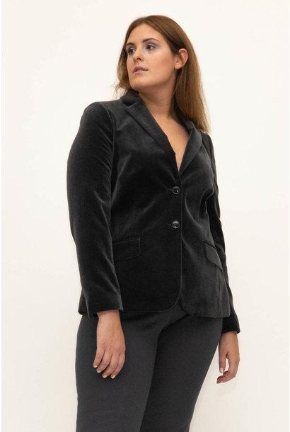 SAMIRA Blazer in Velvet