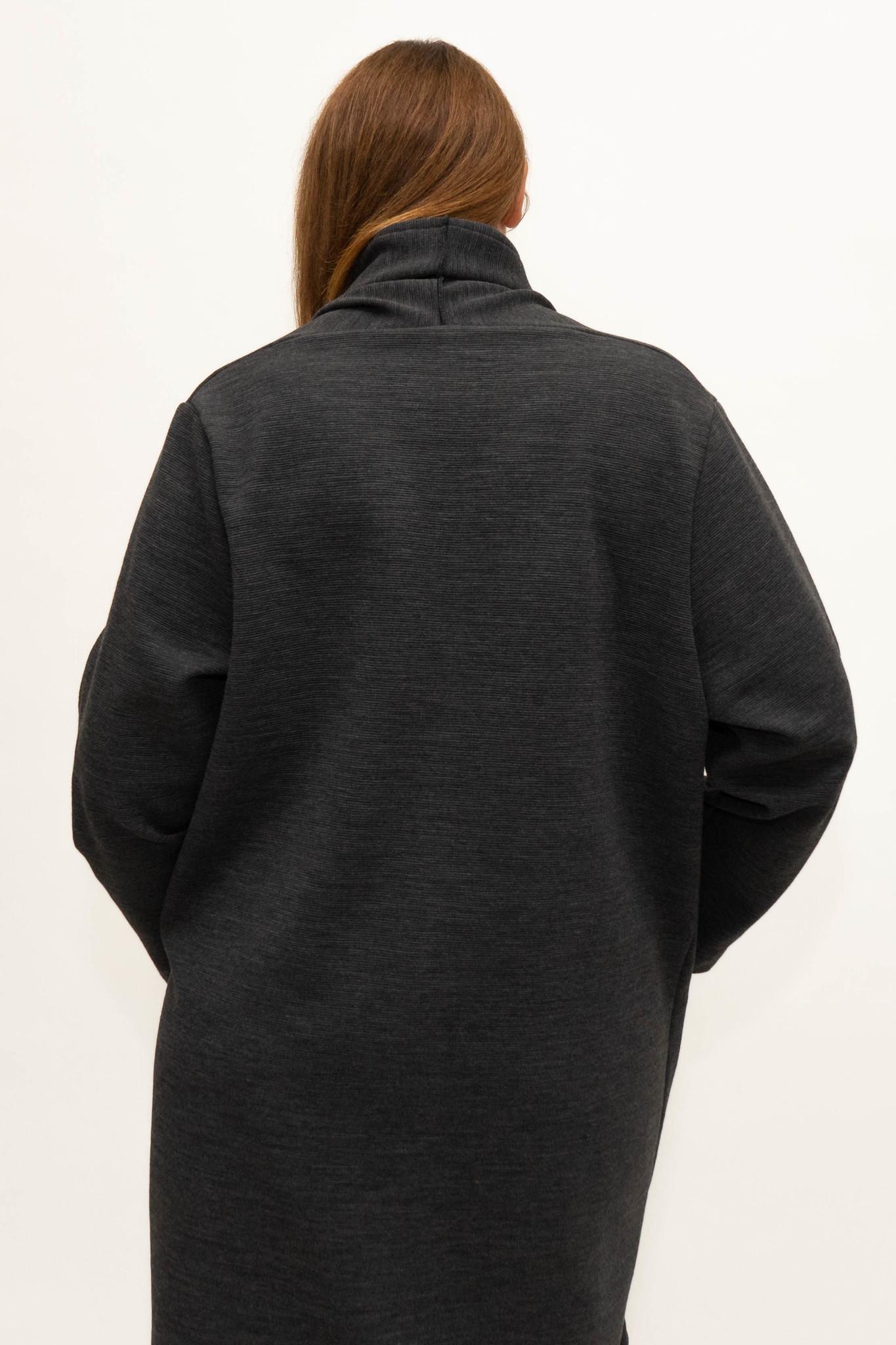 PHILIA Cardigan in Polyester-Virgin Wool blend-4