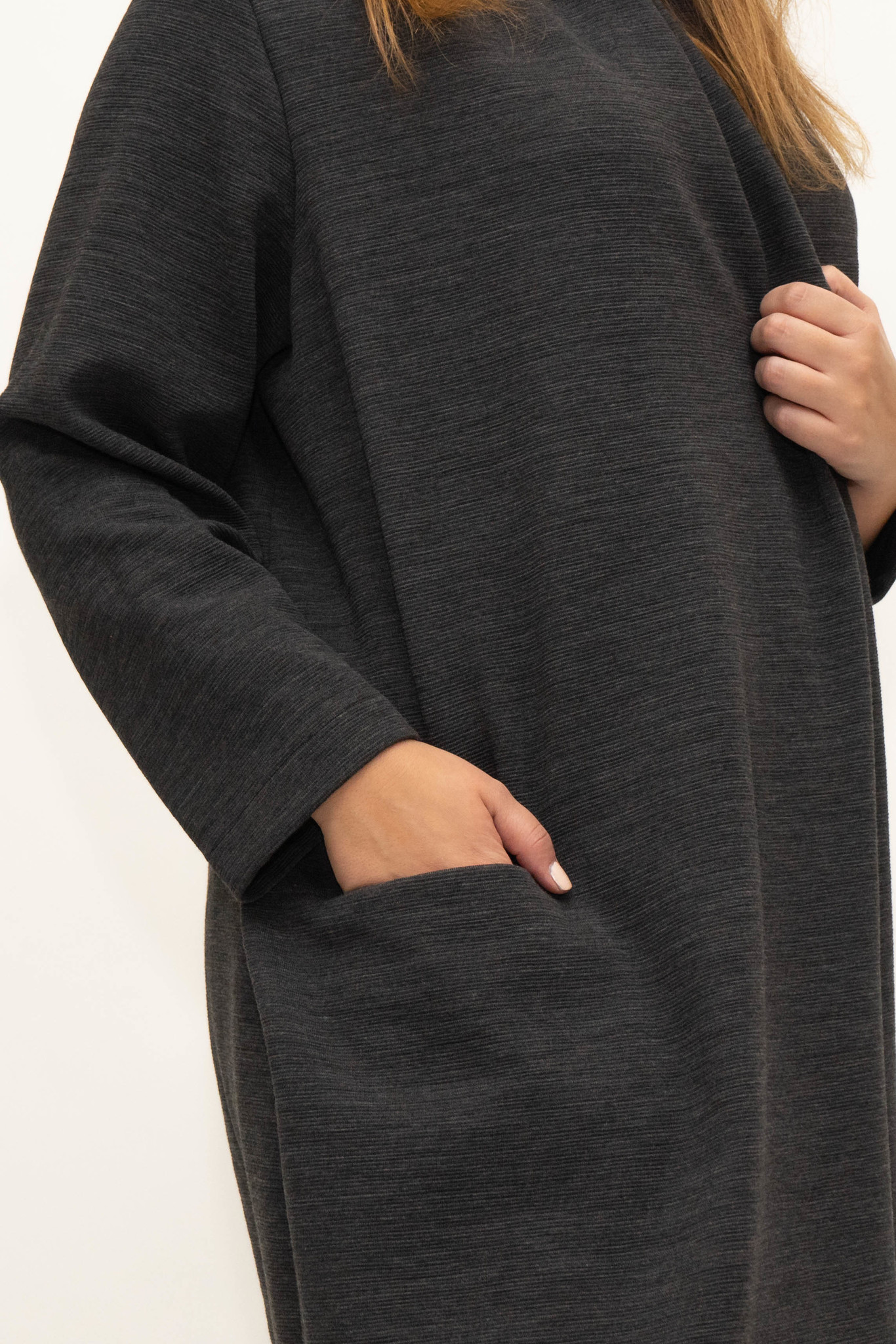 PHILIA Cardigan in Polyester-Virgin Wool blend-5