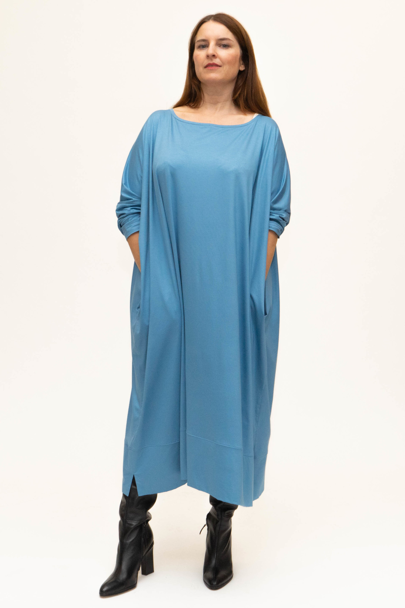 MAAYAN Dress in Viscose-Jersey-2