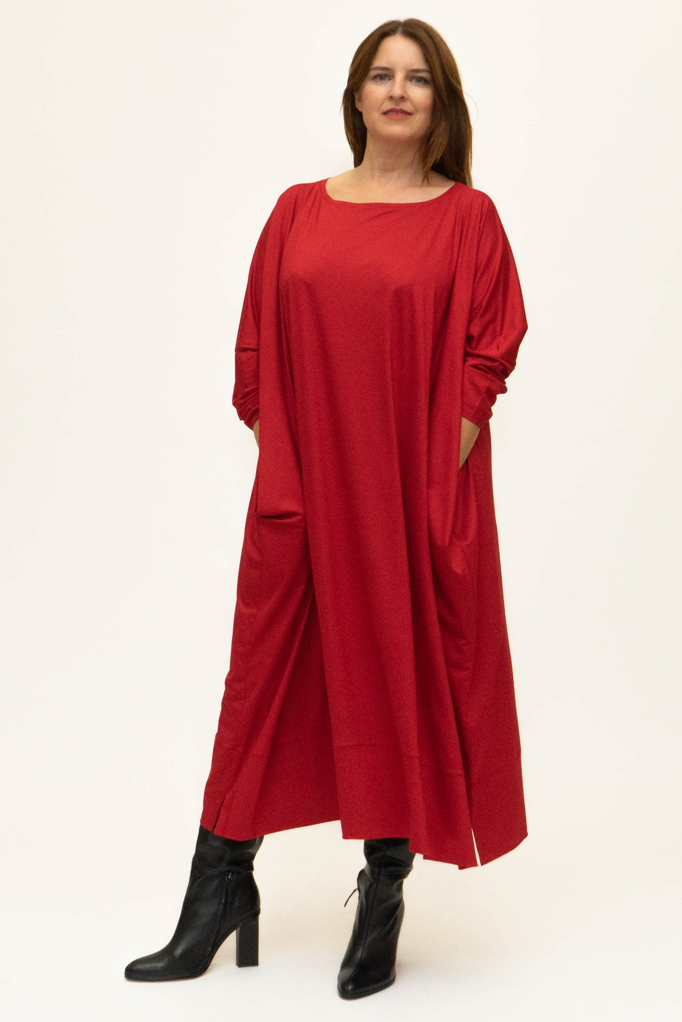 MAAYAN Dress in Viscose-Jersey-1
