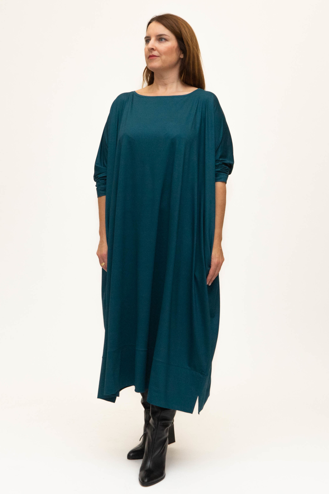MAAYAN Dress in Viscose-Jersey-5