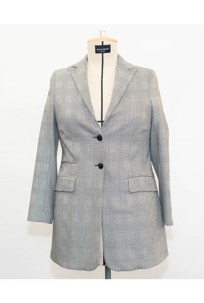THEA Blazer in Pied-de-Poule Wool