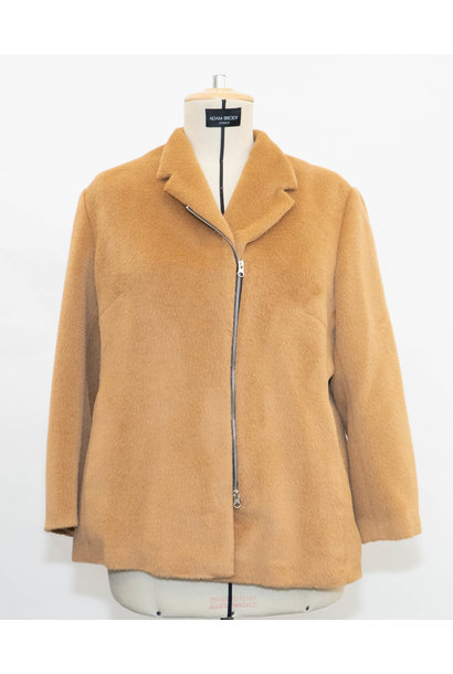 MADISON Jacket in Camel-Woolmix