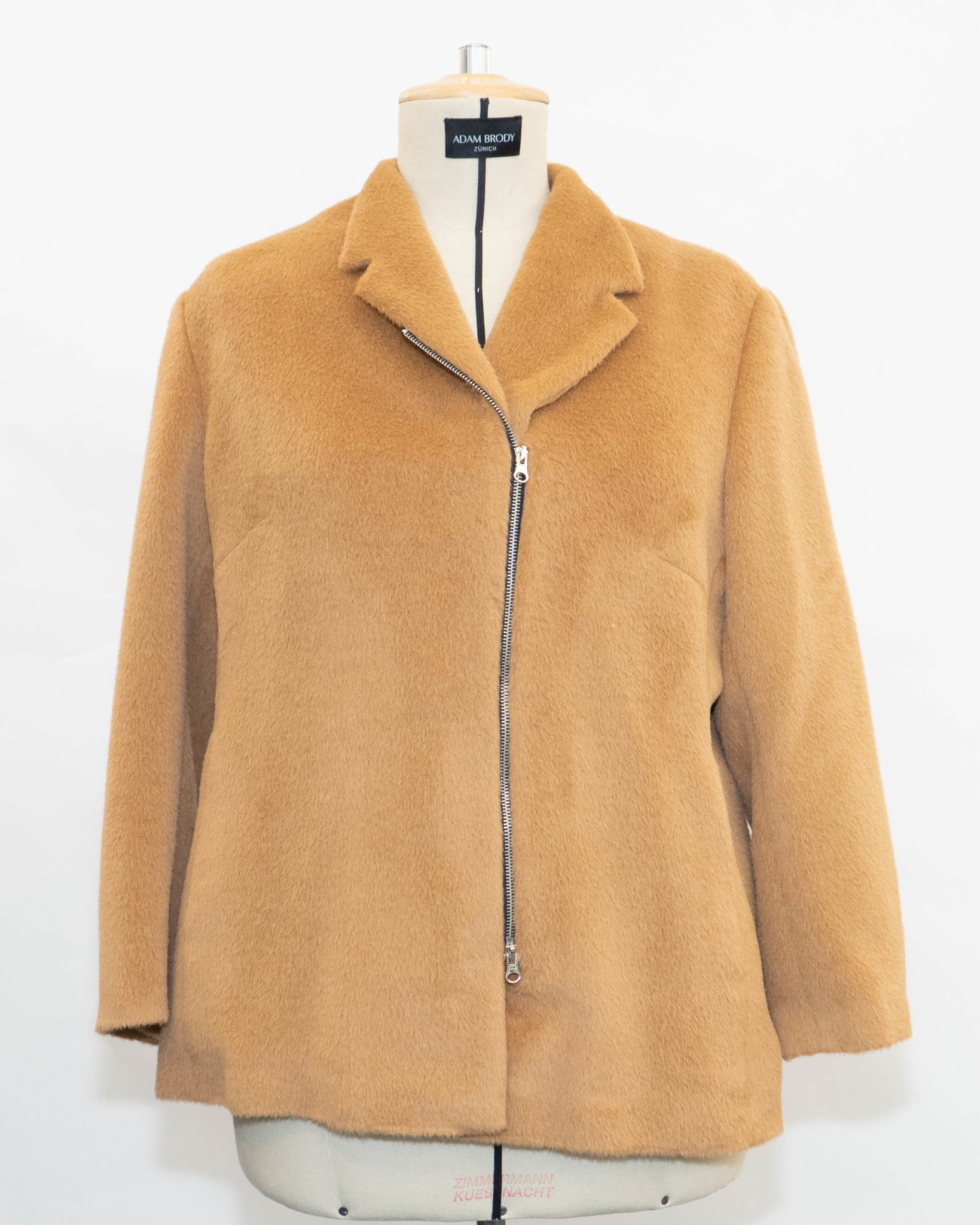 MADISON Jacket in Camel-Woolmix-1