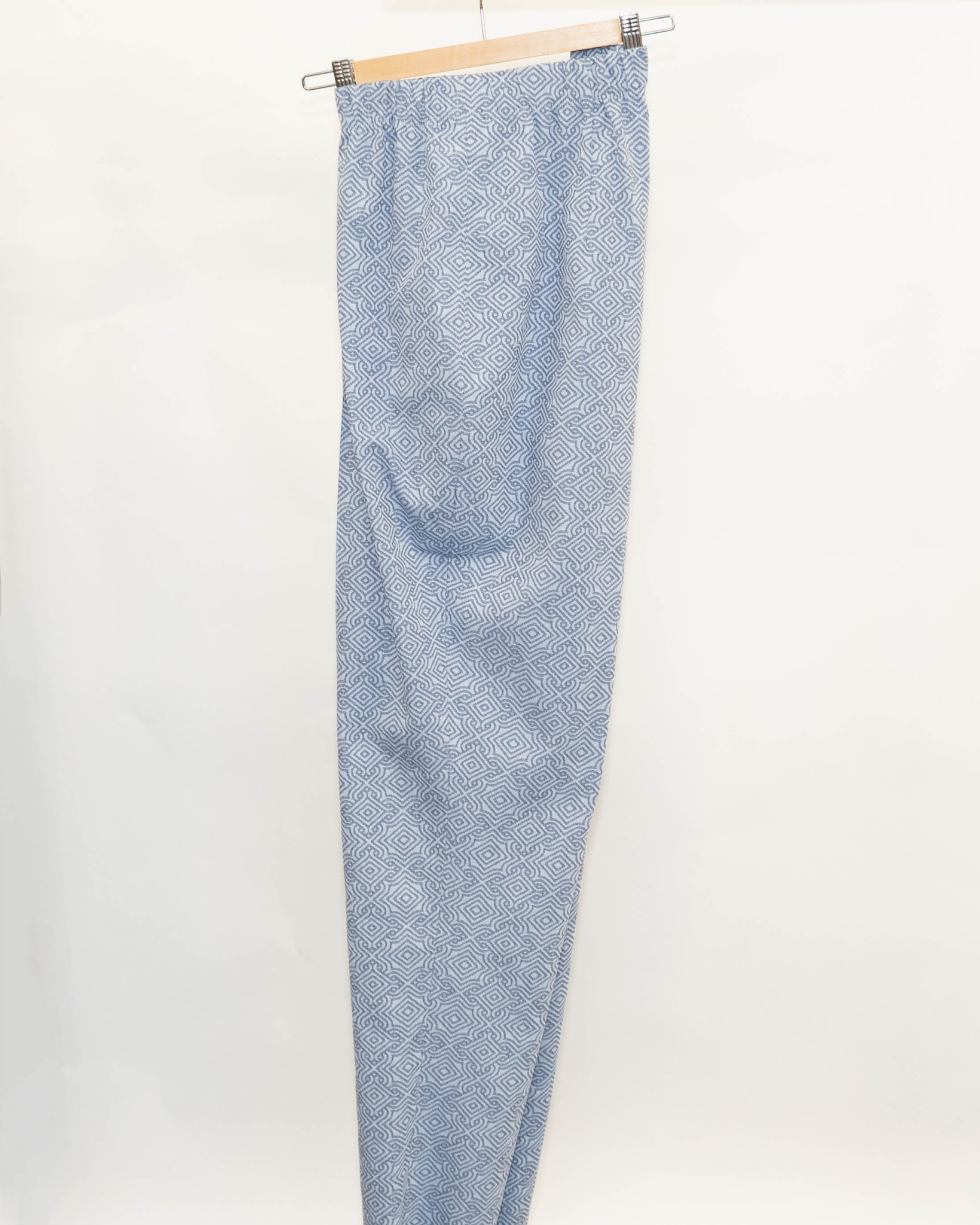 MOSAIC Trousers in Cotton stretch-1