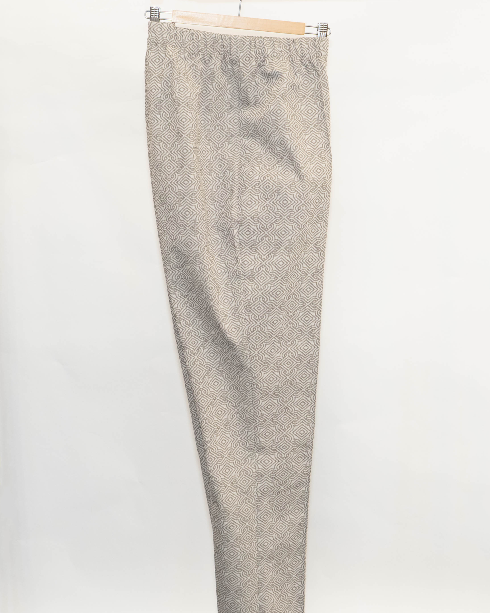 MOSAIC Trousers in Cotton stretch-3