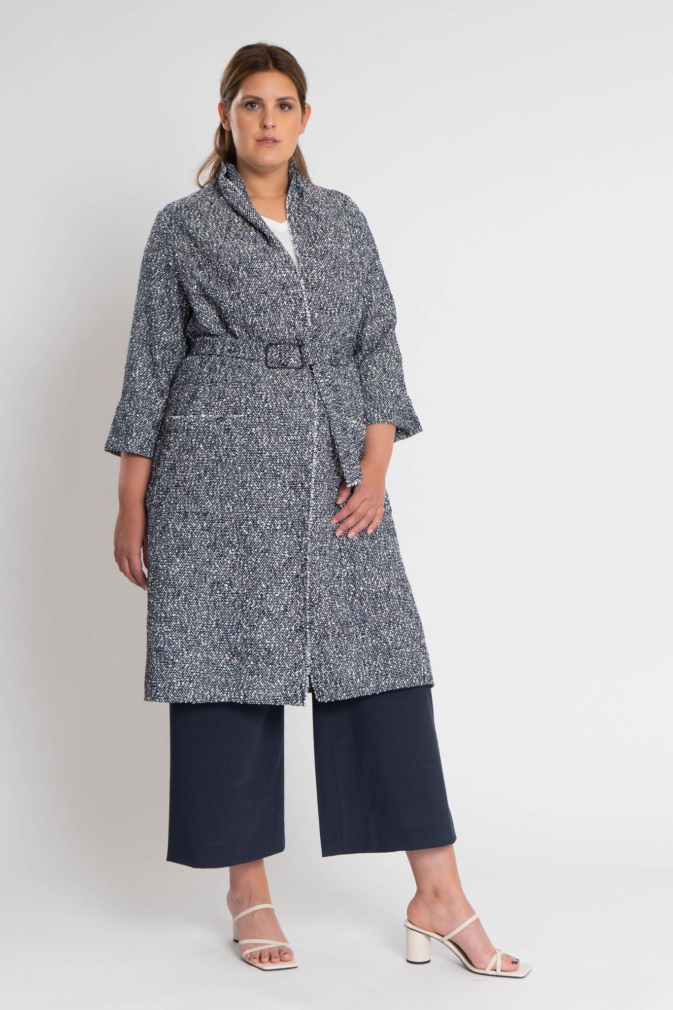 KARINA Jacket in fine Cotton-Bouclé-2