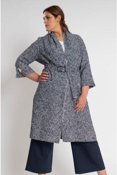 KARINA Jacke aus feinem Baumwoll Bouclé