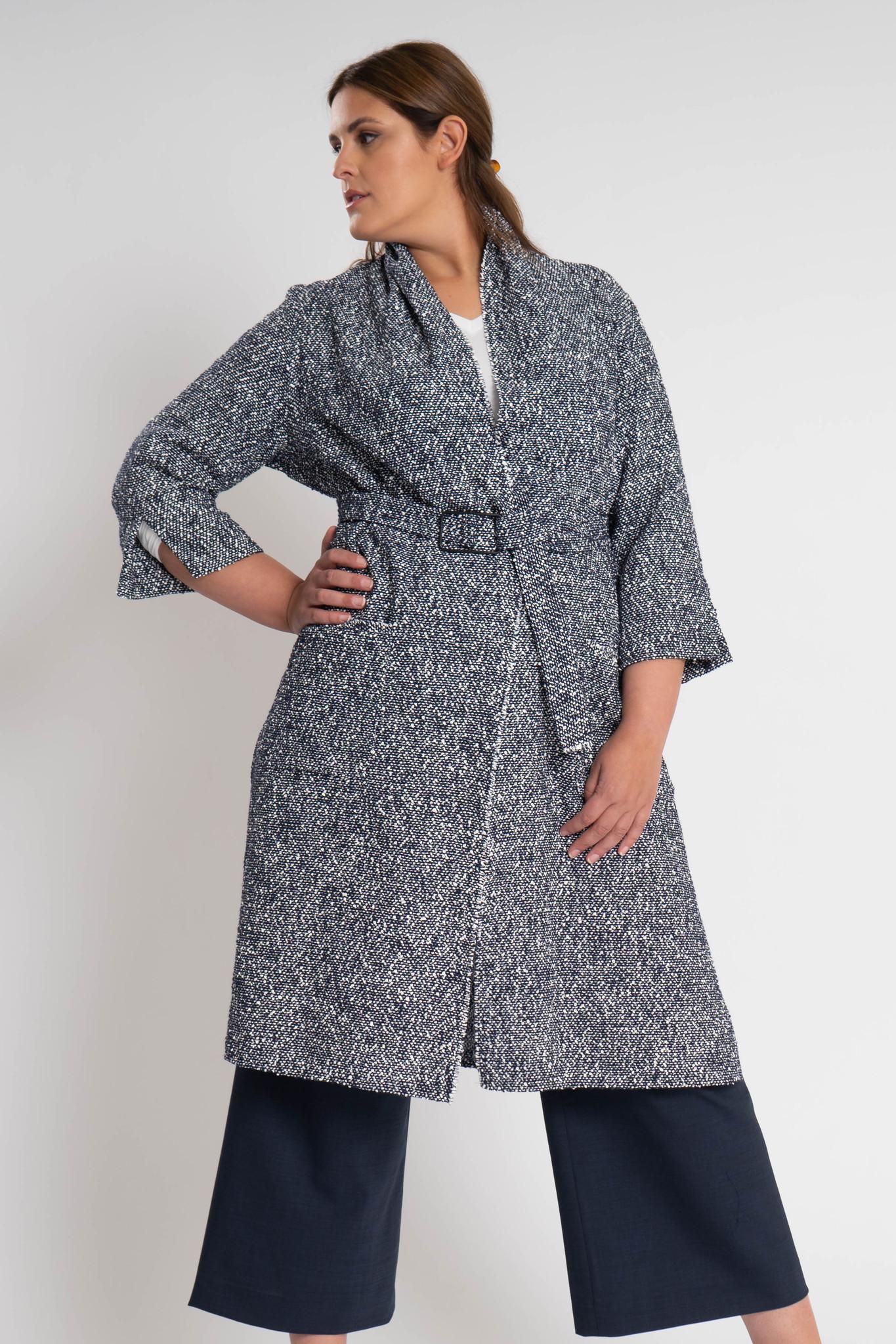 KARINA Jacket in fine Cotton-Bouclé-1