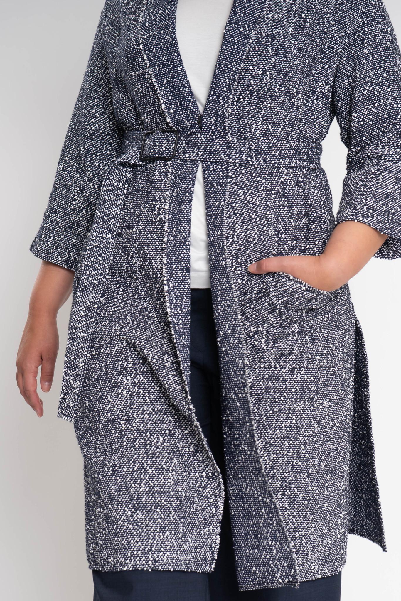 KARINA Jacket in fine Cotton-Bouclé-4
