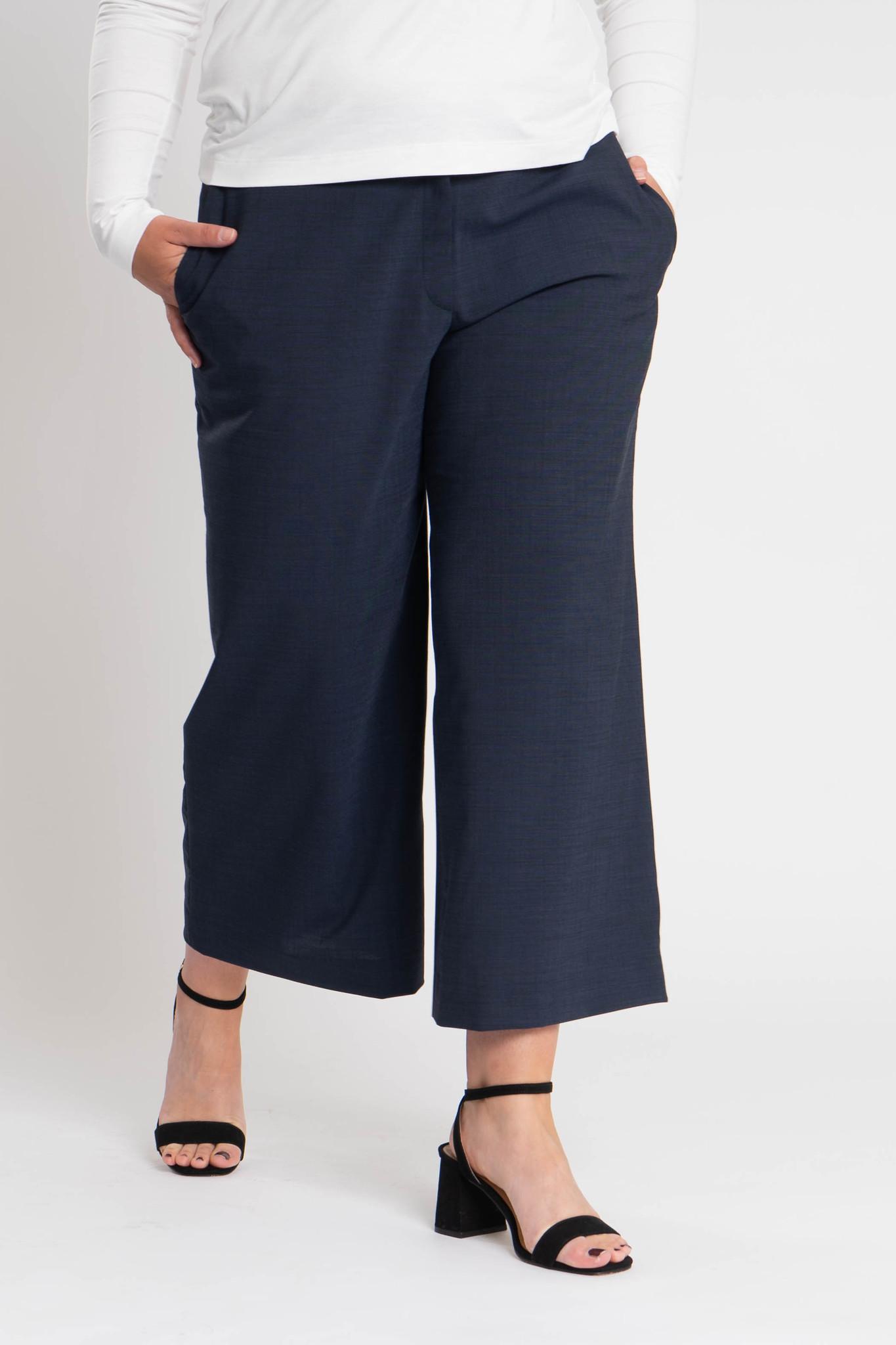 ZEN Trousers in Wool-1