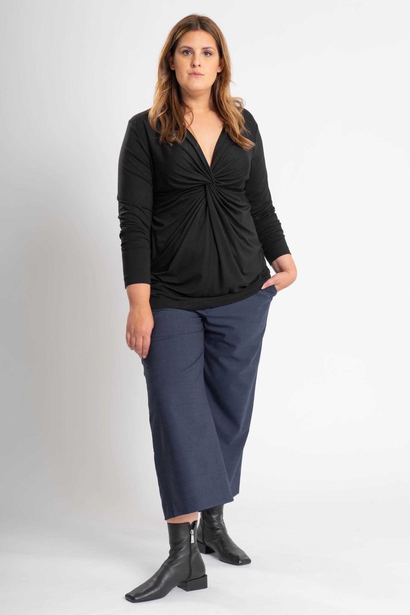 SELENE Shirt aus Viskose-Jersey-5