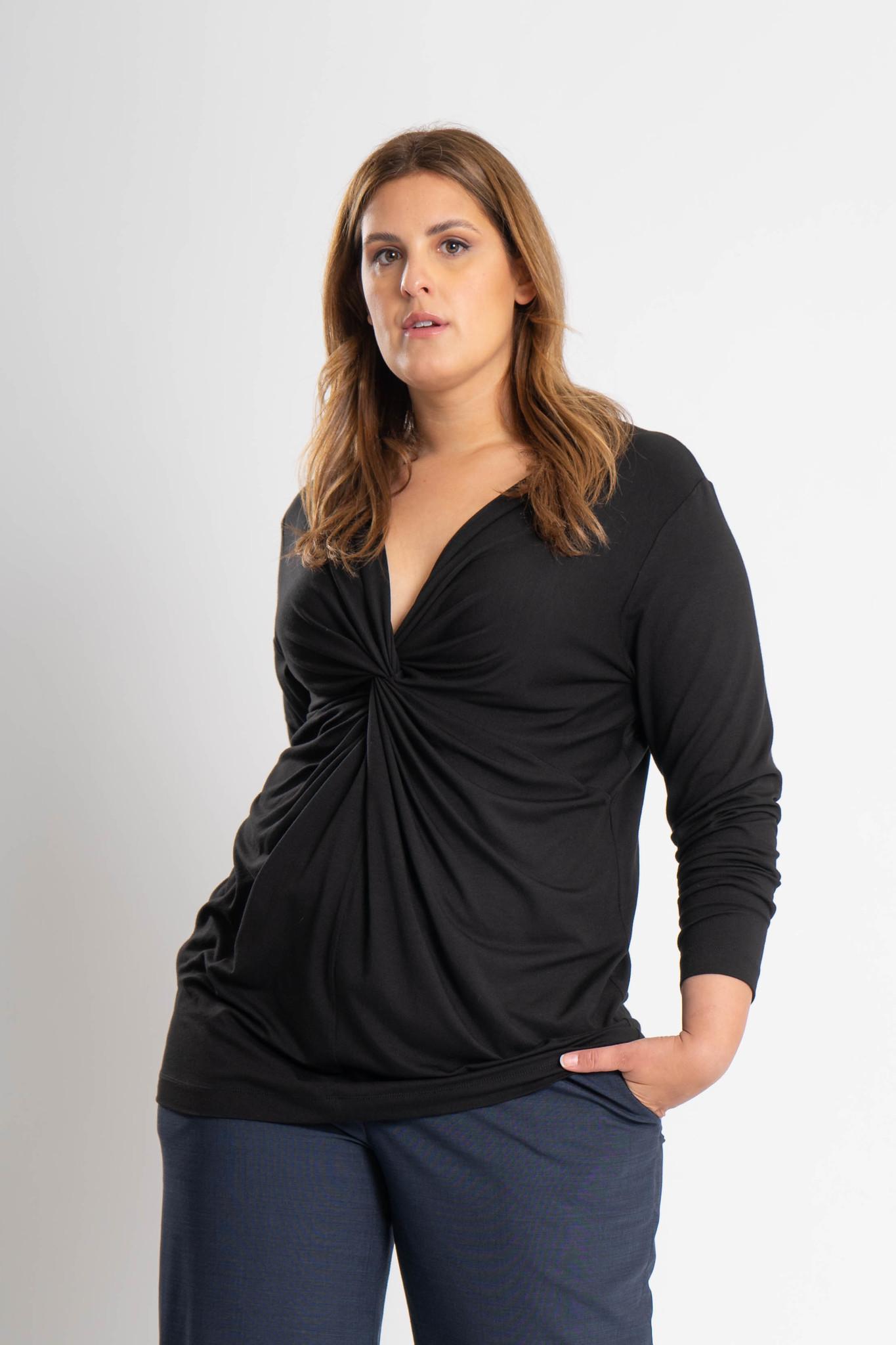 SELENE Shirt aus Viskose-Jersey-7