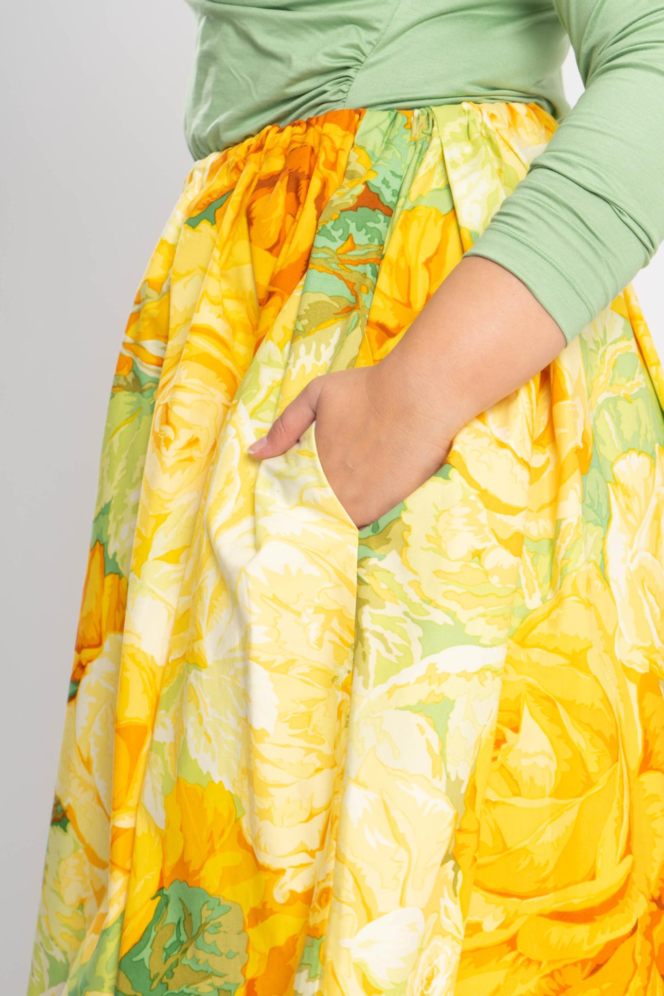 TULIP Skirt in Cotton-4