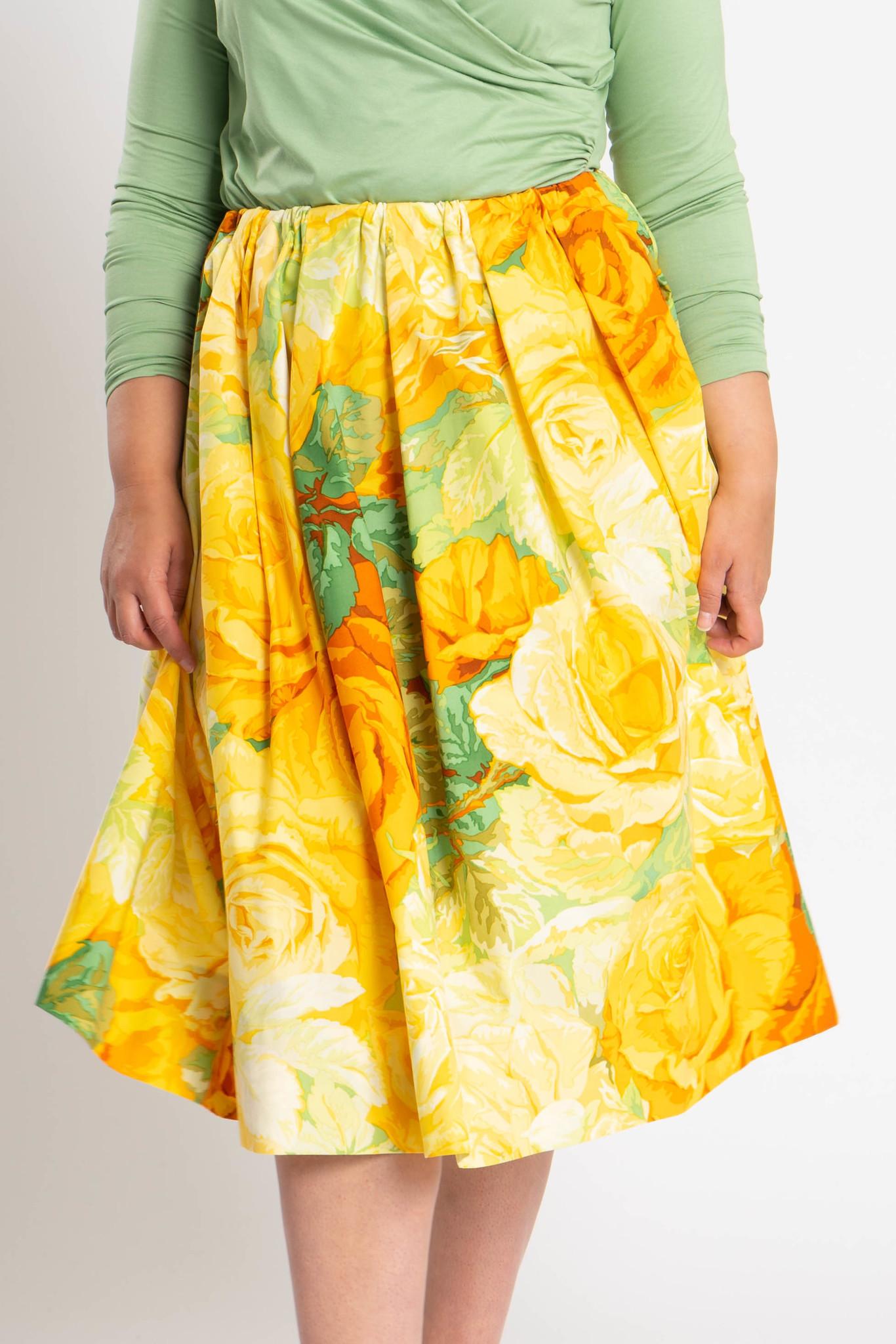 TULIP Skirt in Cotton-1