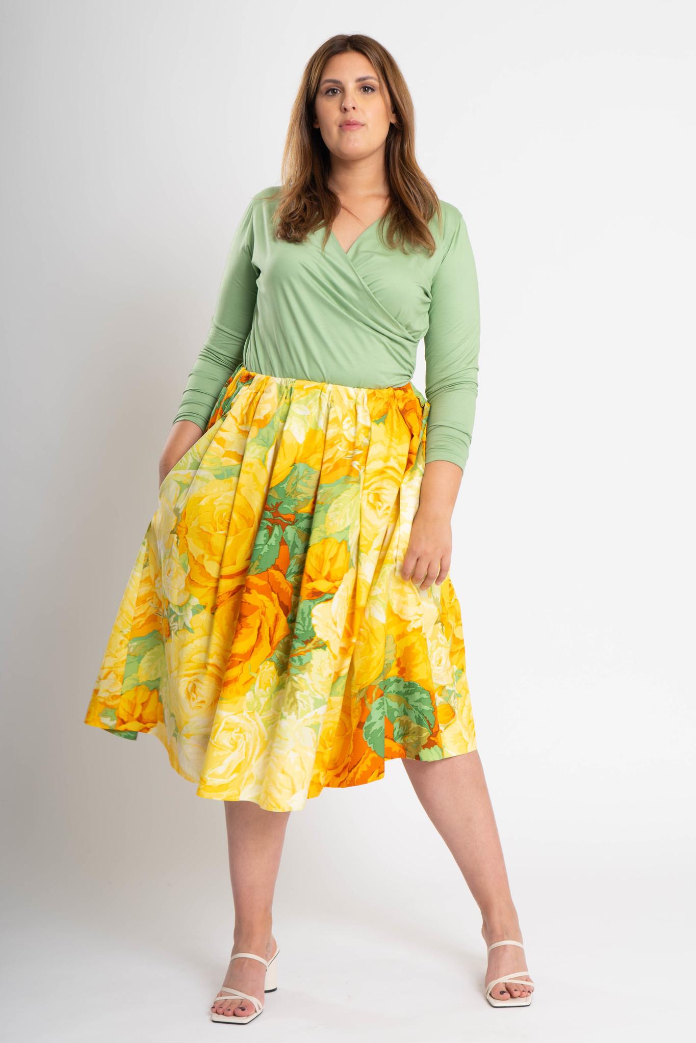 TULIP Skirt in Cotton-2