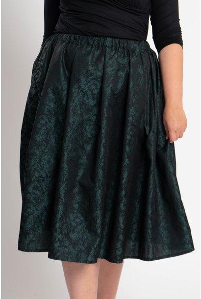 TULIP Skirt in Polyester Jacquard