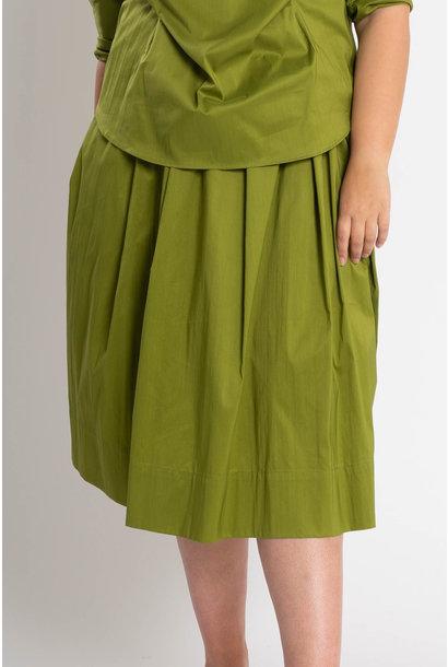 TULIP Skirt in Cotton Popeline stretch