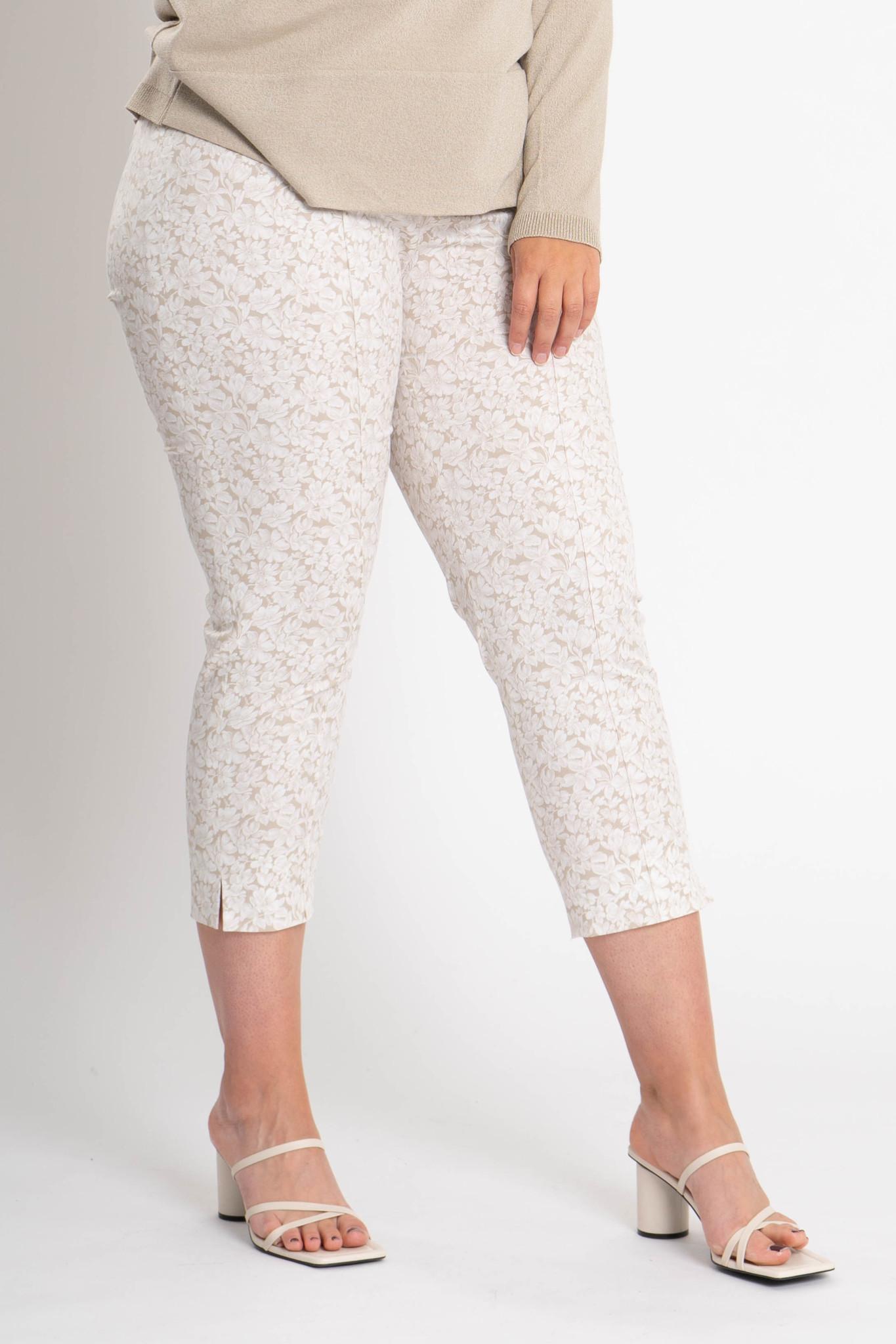 CAPRI Trousers in Cotton stretch-1