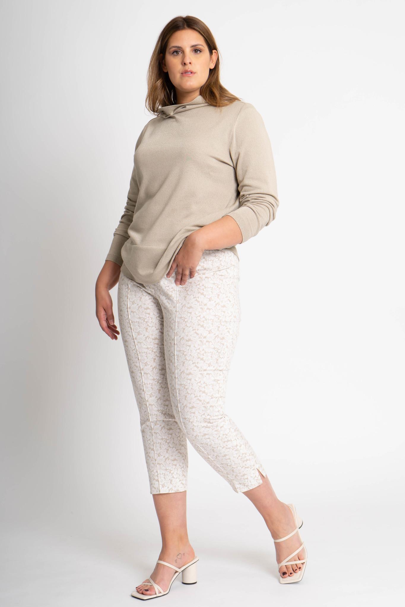 CAPRI Trousers in Cotton stretch-2