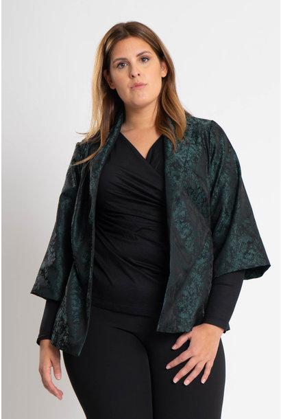 HISA Jacke aus Polyester Jacquard