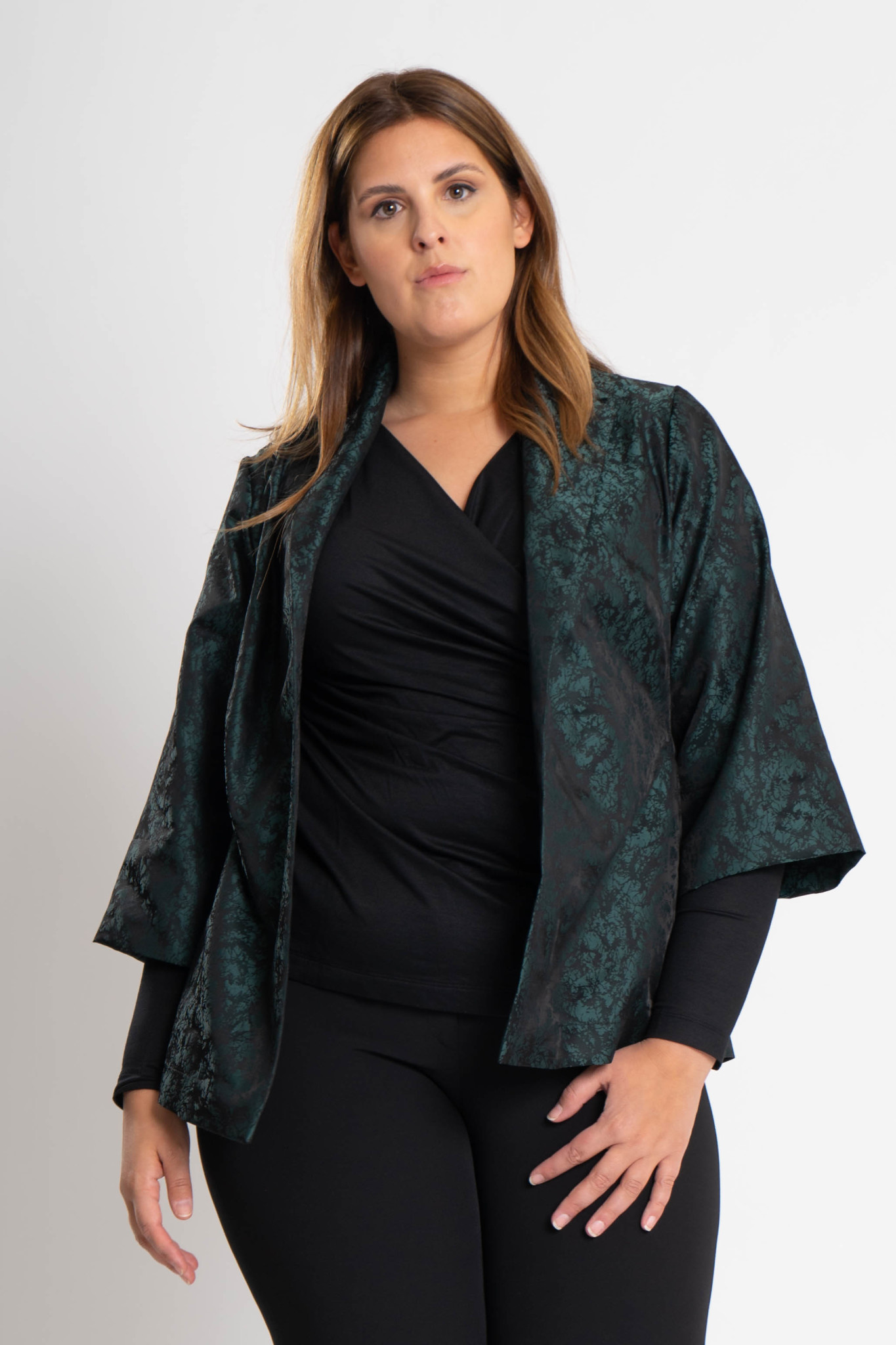 HISA Jacke aus Polyester Jacquard-1