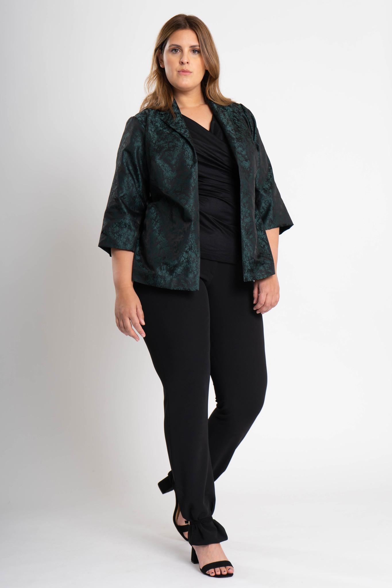HISA Jacke aus Polyester Jacquard-2