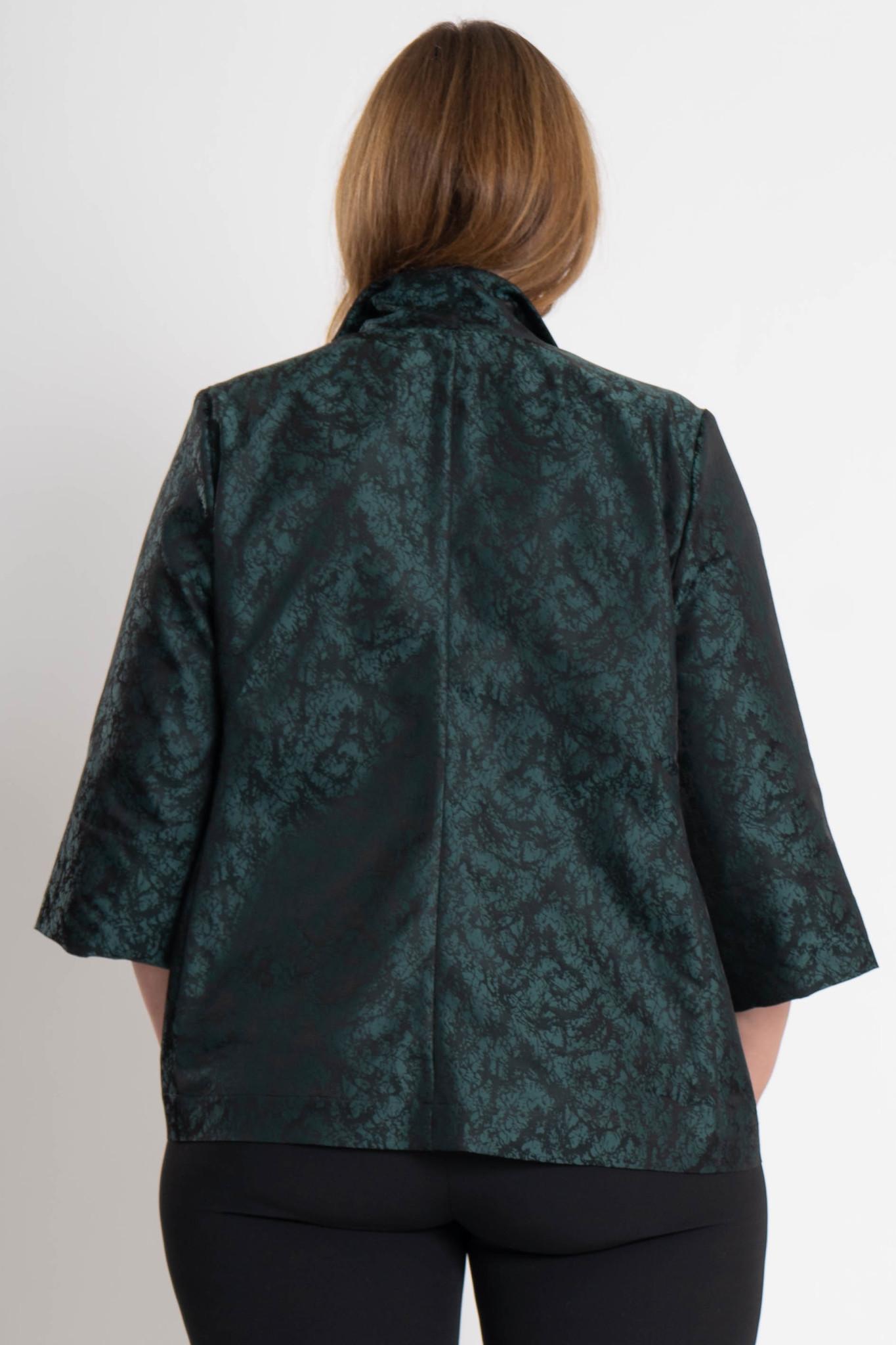 HISA Jacke aus Polyester Jacquard-4