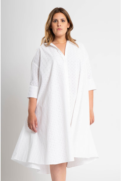 ADRIANA Dress in embroidered Cotton