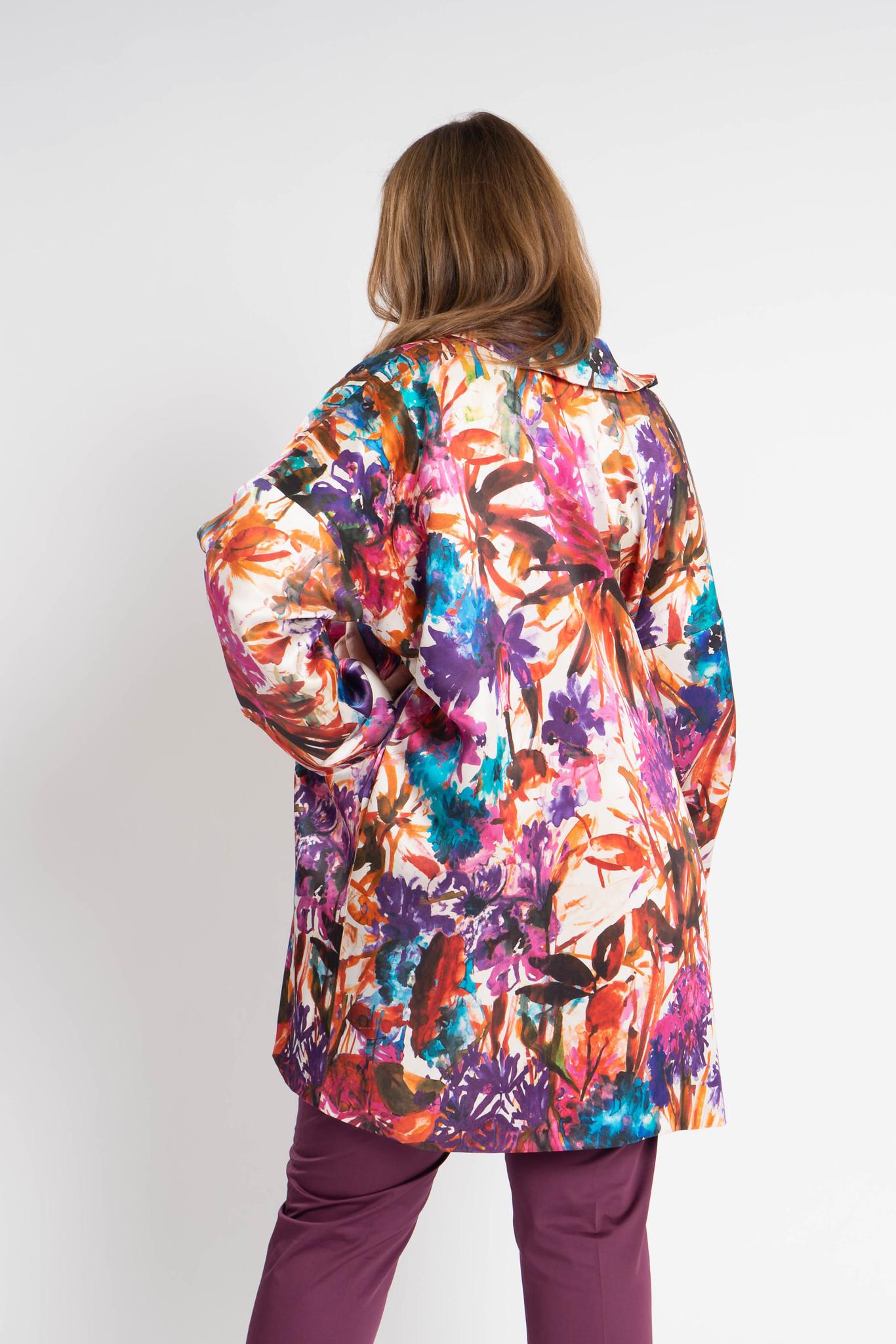KAORI Coat in Silk-3