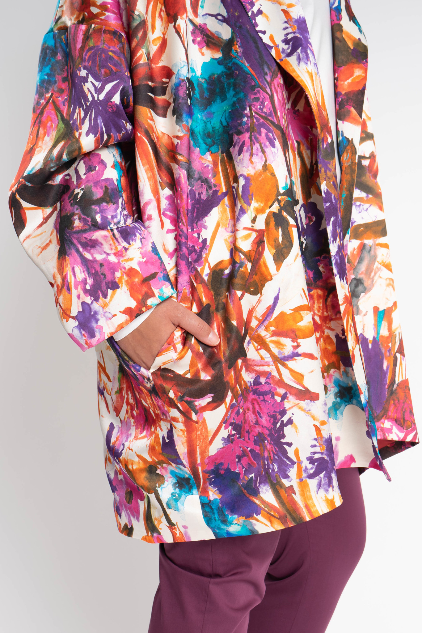 KAORI Coat in Silk-2