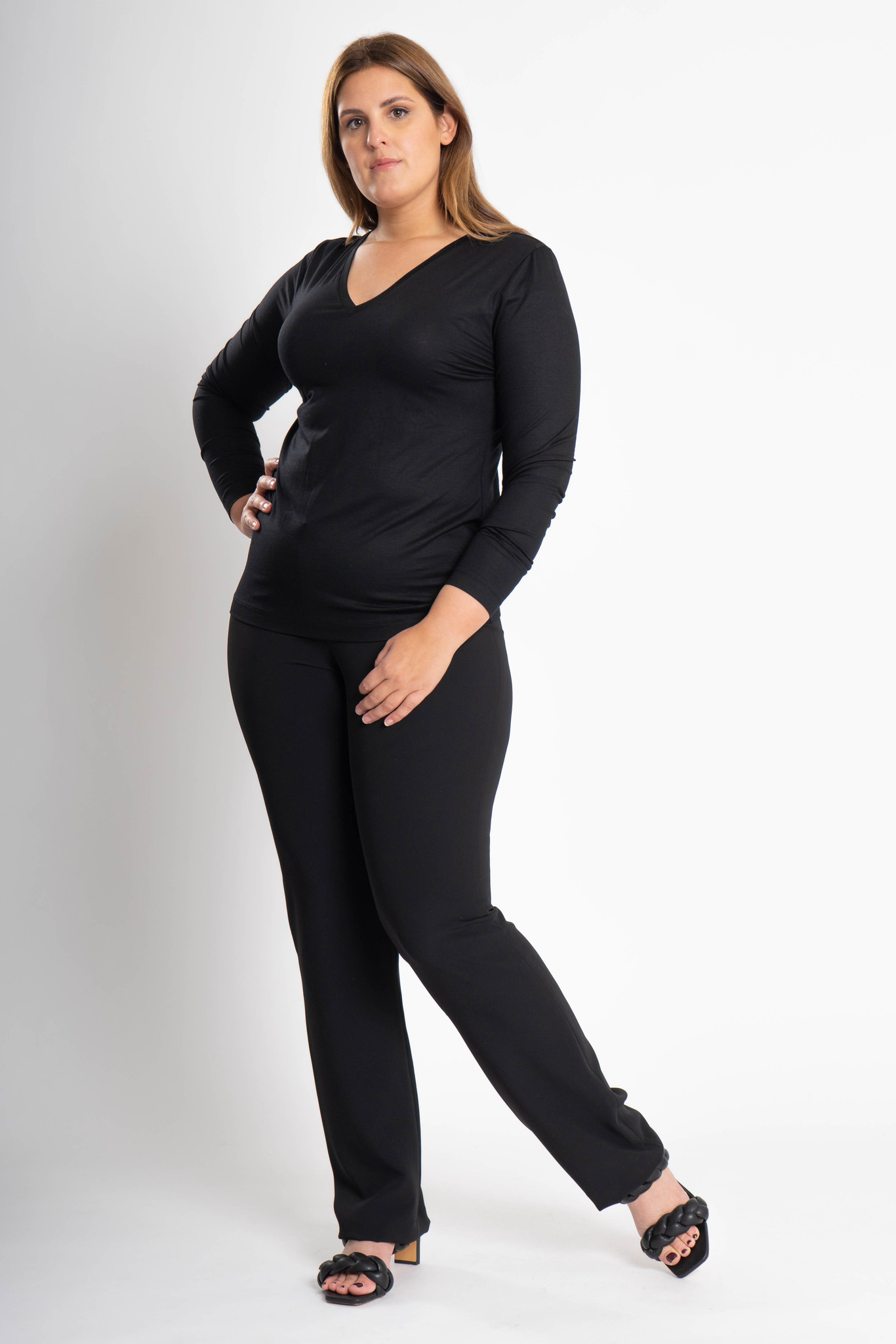 ZWOLF Trousers in Polyester stretch-2