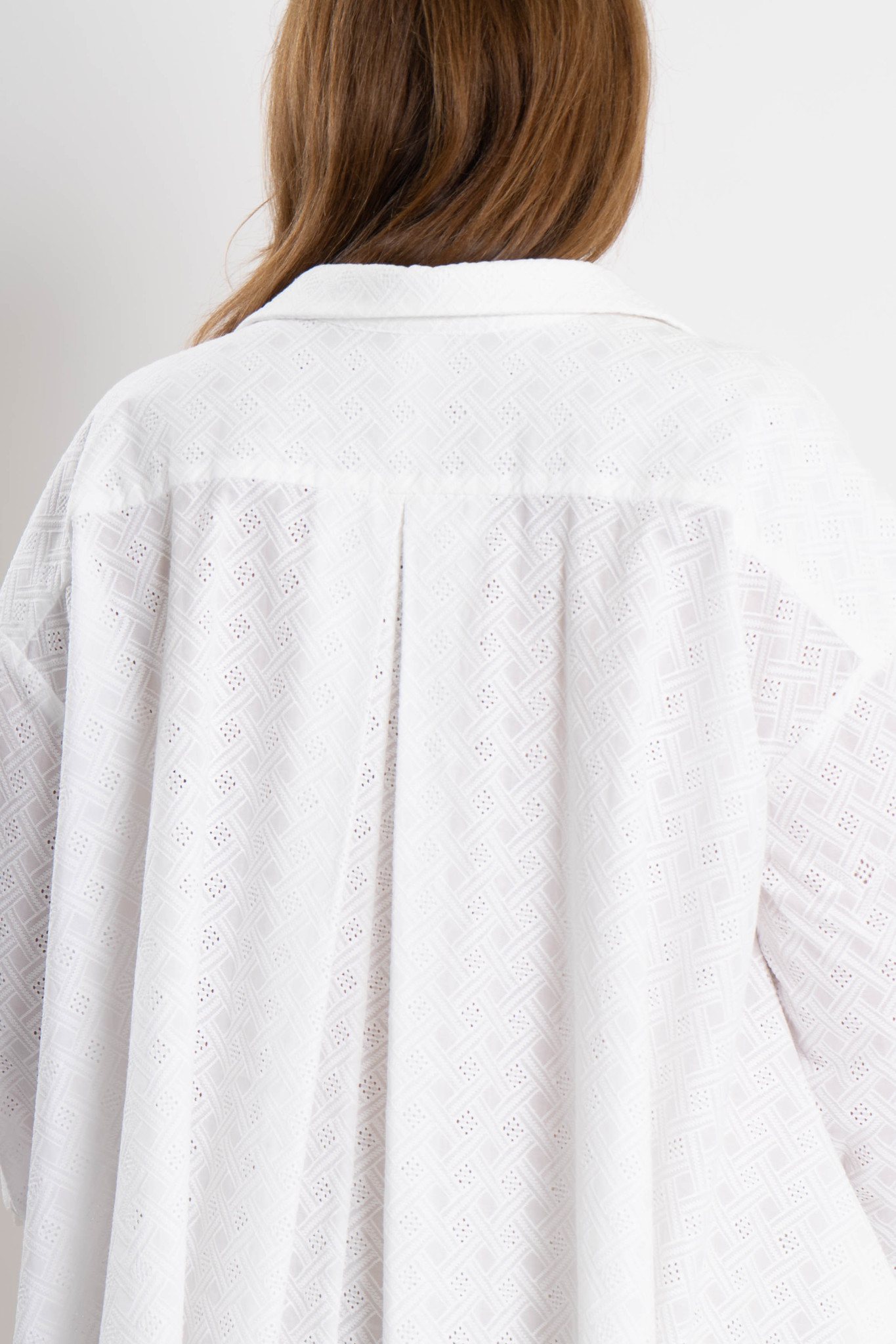 ANDREA Blouse in embroided Cotton-3