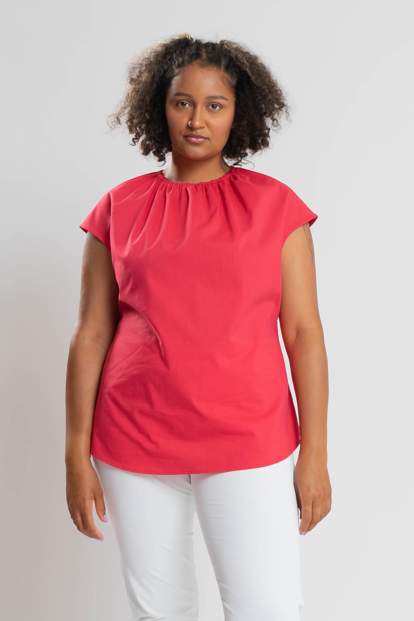 ANZU Shirt aus Bauwoll-Stretch-1