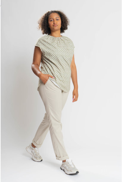 ANZU Shirt aus Bauwoll-Stretch
