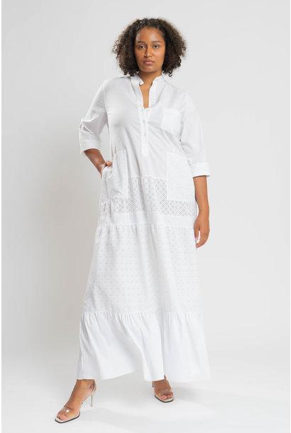 RAIKA Upcycle Kleid aus Baumwolle